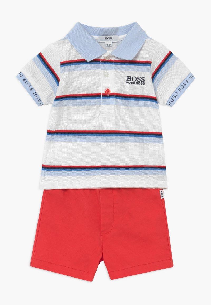 BOSS Kidswear - SET - Kalhoty - red