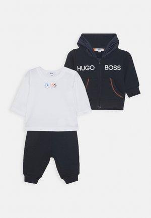 BABY SET - Zip-up hoodie - navy