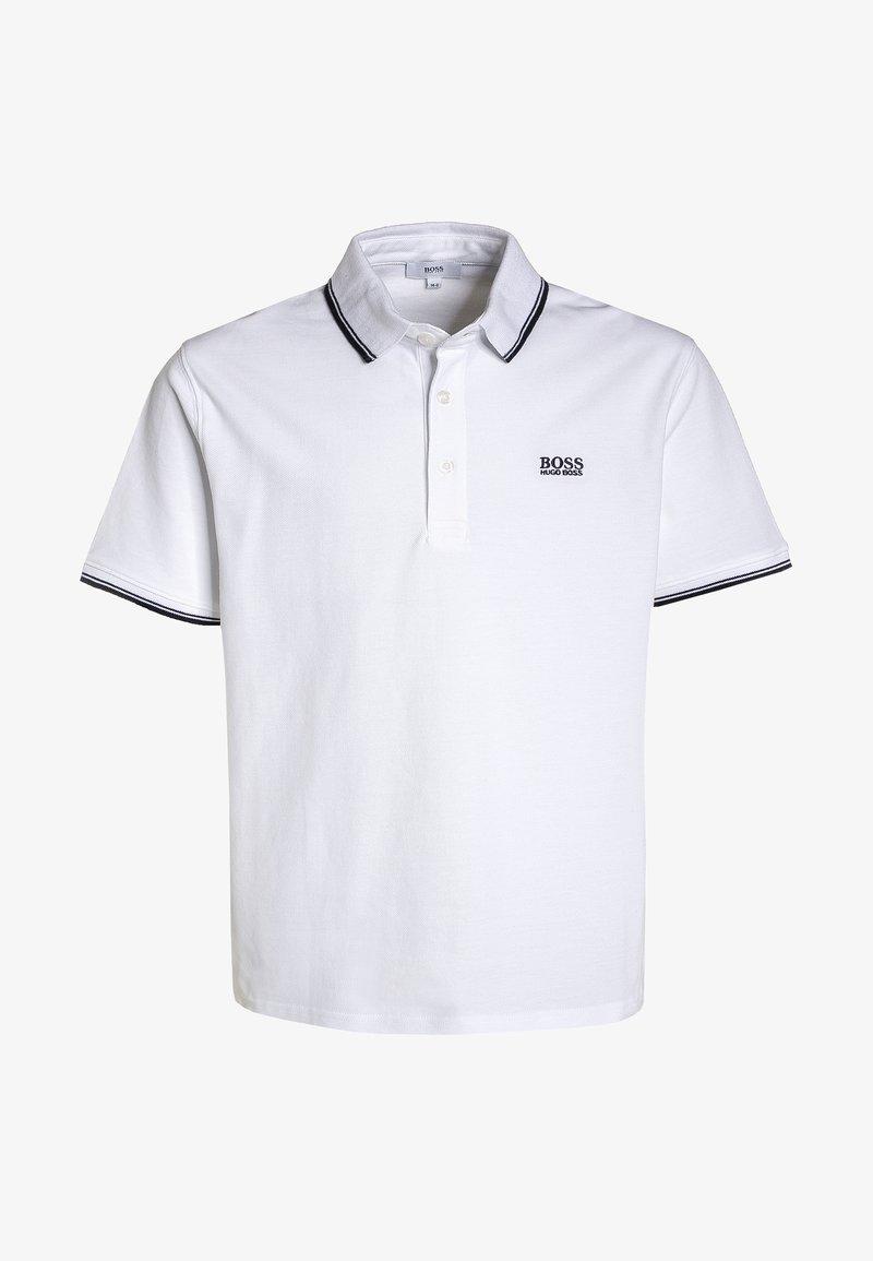 BOSS Kidswear - MANCHES COURTES - Polo - blanc