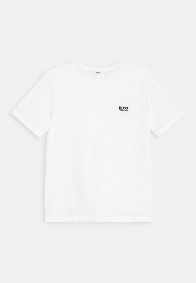 Camiseta estampada - weiß