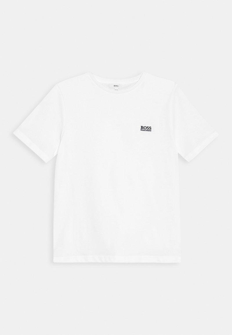 BOSS Kidswear - Print T-shirt - weiß