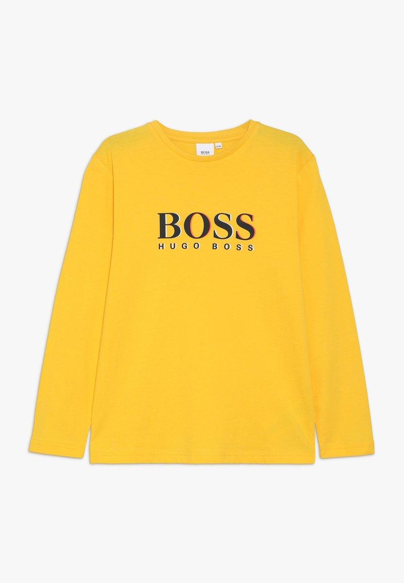 BOSS Kidswear - T-shirt à manches longues - gelb