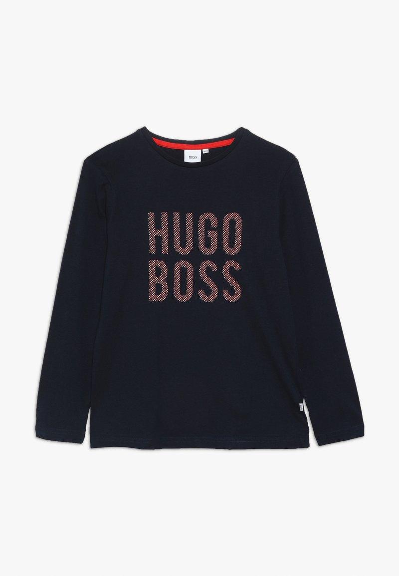 BOSS Kidswear - LANGARM  - Longsleeve - marine