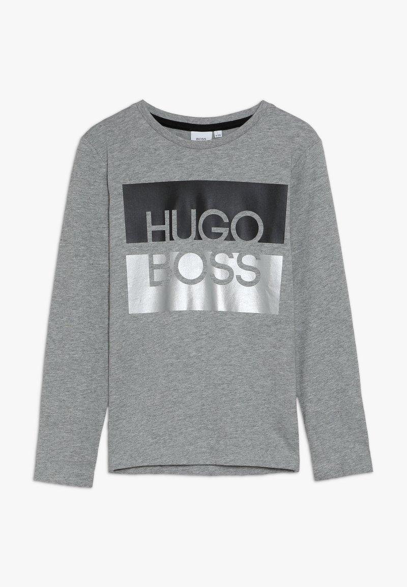 BOSS Kidswear - Langærmede T-shirts - graumeliert