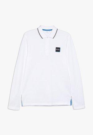 Poloshirts - weiss