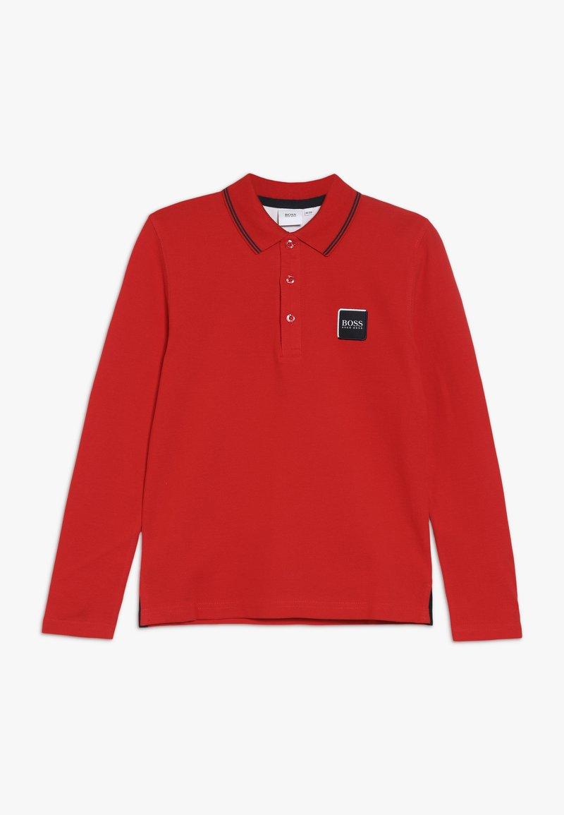 BOSS Kidswear - Polo - rot