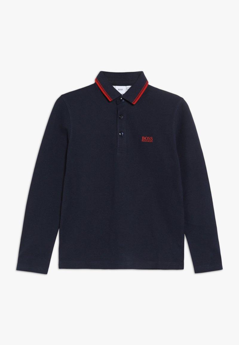 BOSS Kidswear - Polotričko - marine