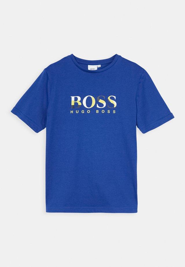 SHORT SLEEVES TEE - T-shirt med print - blue