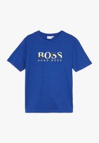 BOSS Kidswear - SHORT SLEEVES TEE - T-shirt imprimé - blue - 0