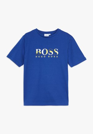 SHORT SLEEVES TEE - Camiseta estampada - blue