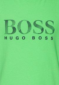 BOSS Kidswear - Triko spotiskem - sea green - 2