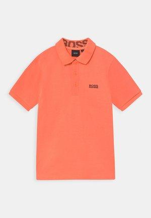 SHORT SLEEVE - Poloshirt - orange