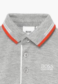 BOSS Kidswear - SHORT SLEEVE - Poloshirt - gris chine - 3