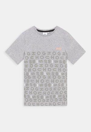 SHORT SLEEVES TEE - T-shirt imprimé - chine grey