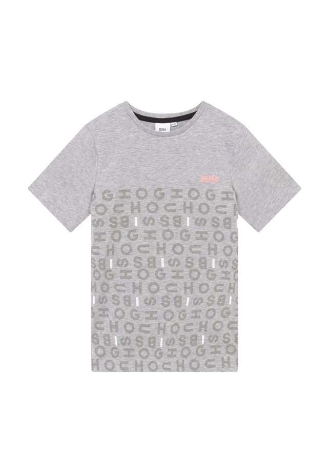 SHORT SLEEVES TEE - Camiseta estampada - chine grey