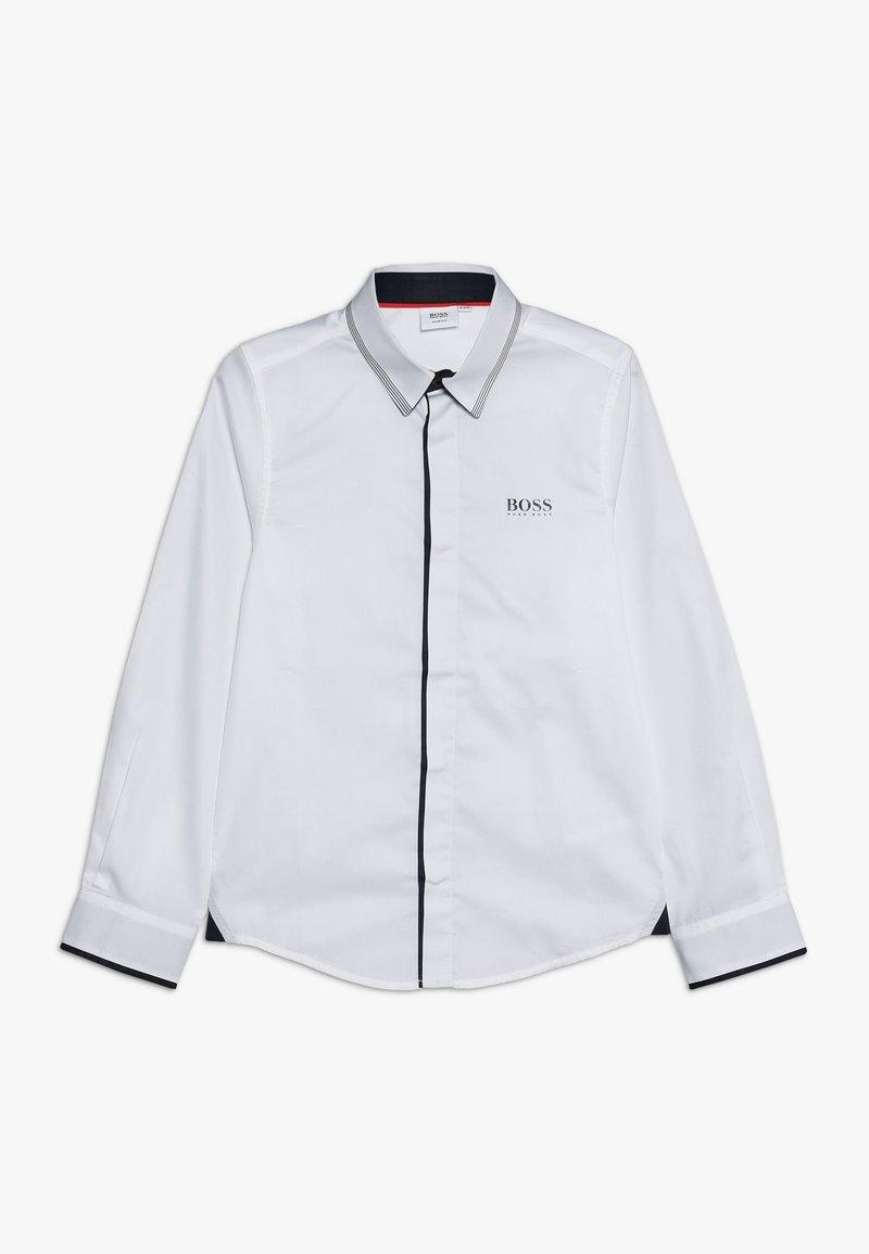 BOSS Kidswear - LANGARM - Hemd - weiss