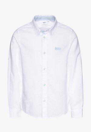LONG SLEEVED - Shirt - white