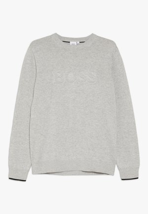 Pullover - hell graumeliert