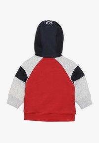 BOSS Kidswear - Hoodie met rits - new red - 1