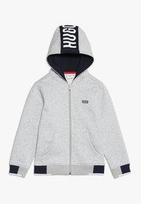 BOSS Kidswear - Felpa aperta - hell graumeliert - 0