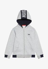 BOSS Kidswear - Felpa aperta - hell graumeliert - 3