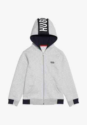 Zip-up hoodie - hell graumeliert
