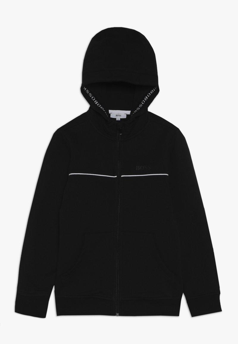 BOSS Kidswear - Mikina na zip - schwarz