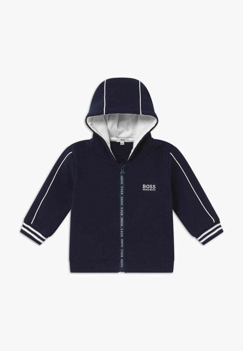 BOSS Kidswear - Cardigan - bleu cargo