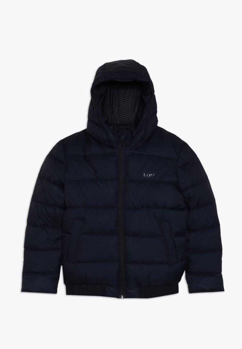 BOSS Kidswear - Zimní bunda - marine