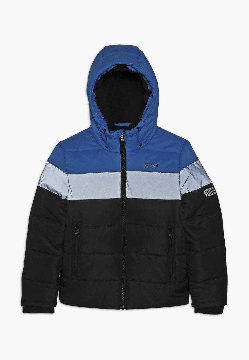 BOSS Kidswear - Winterjas - grau/schwarz