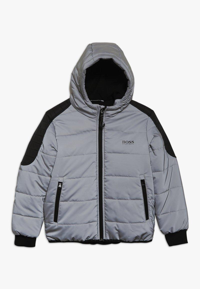 BOSS Kidswear - Zimní bunda - silver