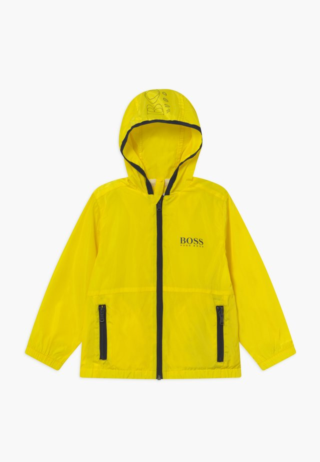 WINDBREAKER - Chaqueta de entretiempo - yellow