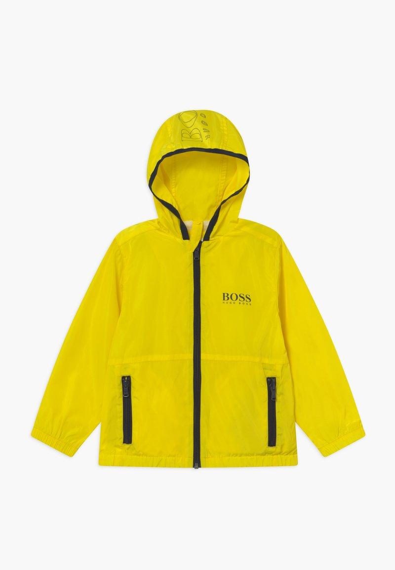 BOSS Kidswear - WINDBREAKER - Chaqueta de entretiempo - yellow