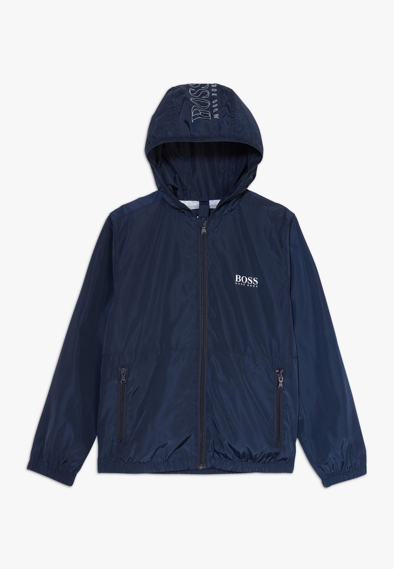 BOSS Kidswear - WINDBREAKER - Jas - navy