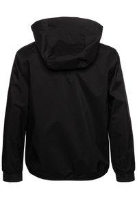 BOSS Kidswear - HOODED WINDBREAKER - Välikausitakki - black - 1