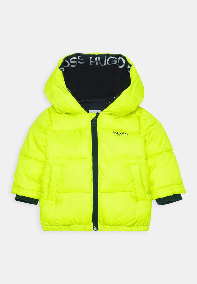 PUFFER JACKET BABY  - Winter jacket - green lemon