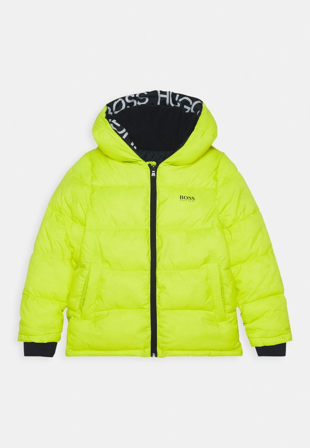 PUFFER JACKET - Giacca invernale - green lemon