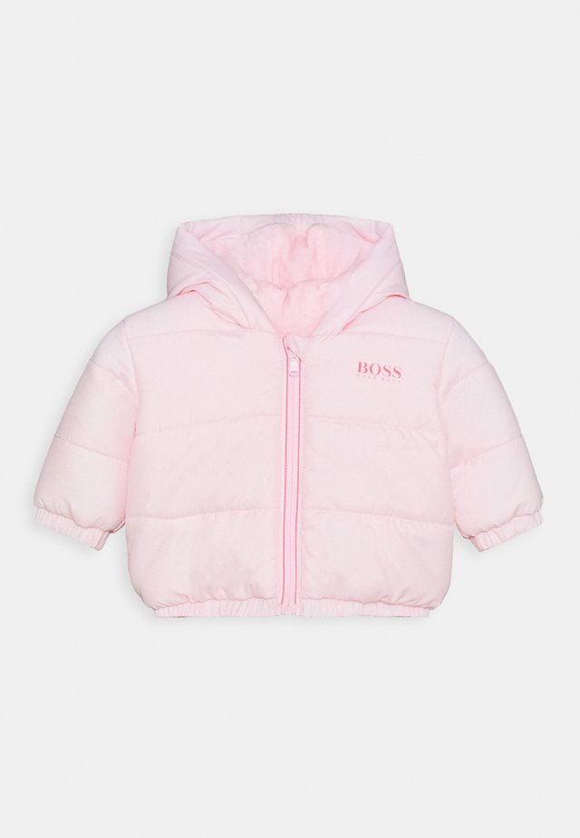 PUFFER JACKET BABY UNISEX - Chaqueta de invierno - pinkpale