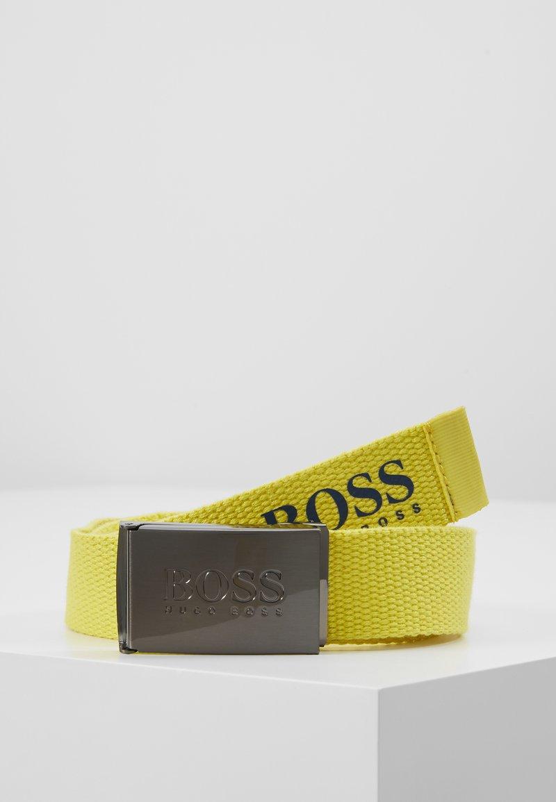 BOSS Kidswear - BELT - Riem - yellow