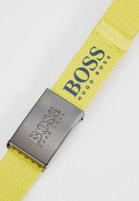 BOSS Kidswear - BELT - Riem - yellow - 2