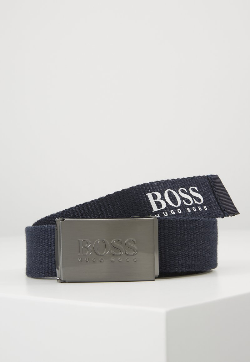 BOSS Kidswear - BELT - Bælter - navy