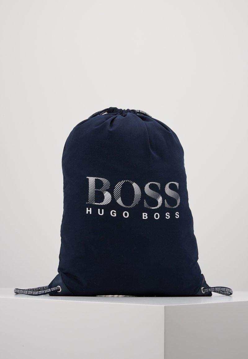 BOSS Kidswear - BEACH BAG - Batoh - navy