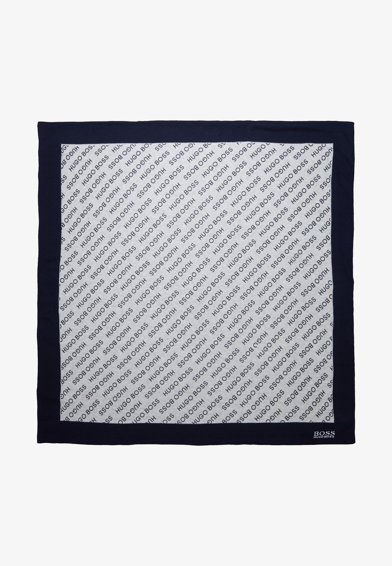 BOSS Kidswear - Baby blanket - gris marine