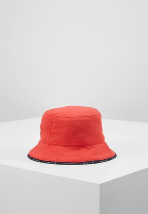 REVERSIBLE BUCKET HAT - Klobouk - red
