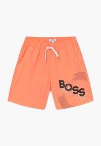 BOSS Kidswear - SWIM - Plavky - orange - 0