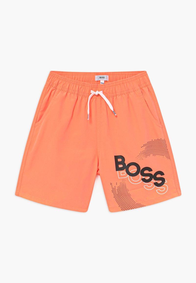 BOSS Kidswear - SWIM - Plavky - orange