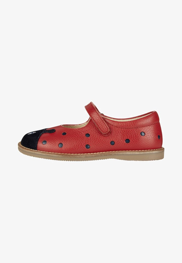 Boden - SPANGENSCHUHE - Ballet pumps - rockabilly-red