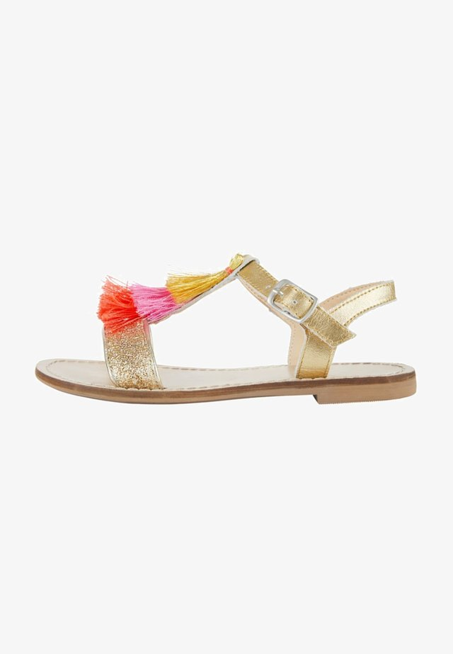 Sandals - gold-metallic