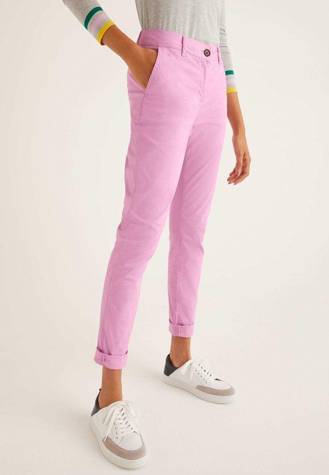 DAISY  - Chinos - mottled light pink