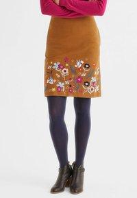 Boden - A-line skirt - pumpkin orange - 1